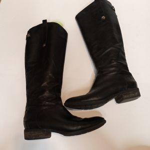 Sam Edelman Penny tall black leather 8.5